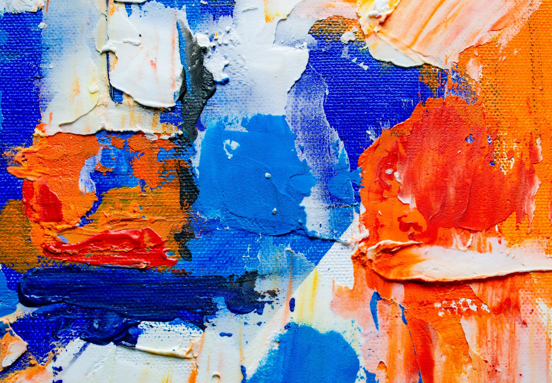 abstract paitning wall